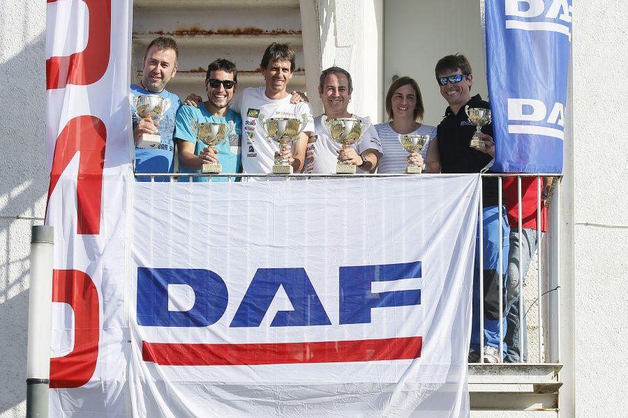 Txus Jaio y Jesús Urkidi, vencedores en el Rally de Ulzama (Navarra)