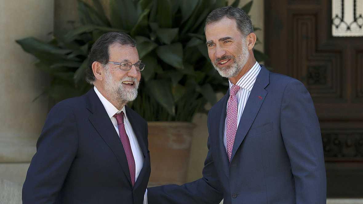 Rajoy dice que ley referéndum sería