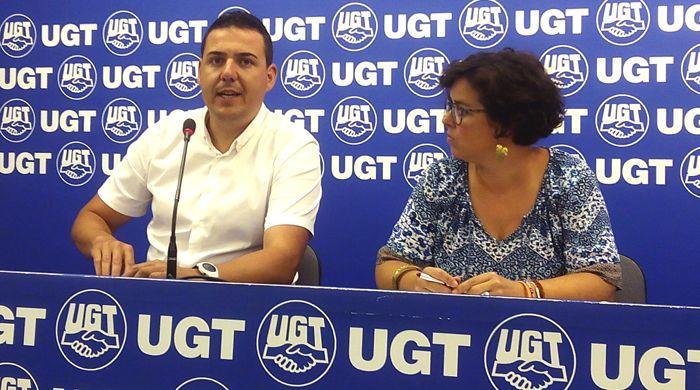 UGT advierte sobre el