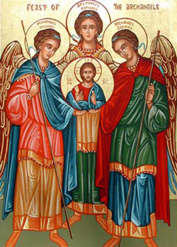 29 de septiembre: Fiesta de los Santos Arcángeles