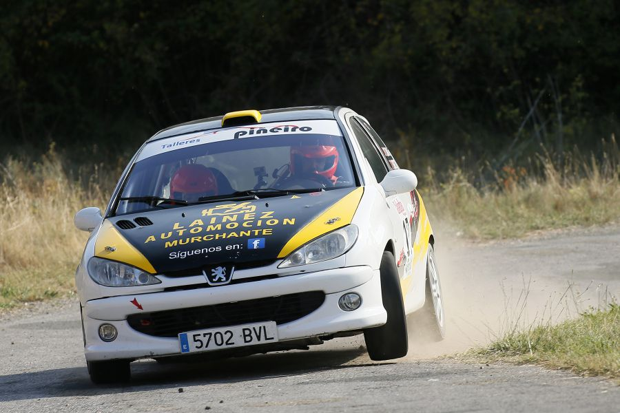 Mattin Villares termina segundo en el Rallysprint Callaghan de La Rioja