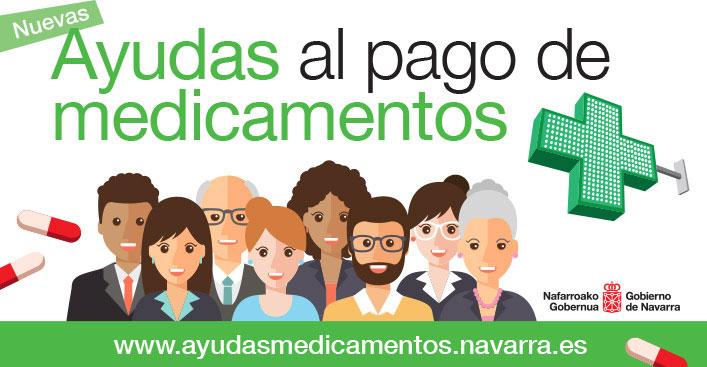 Nuevas ayudas al copago de medicamentos del Gobierno de Navarra