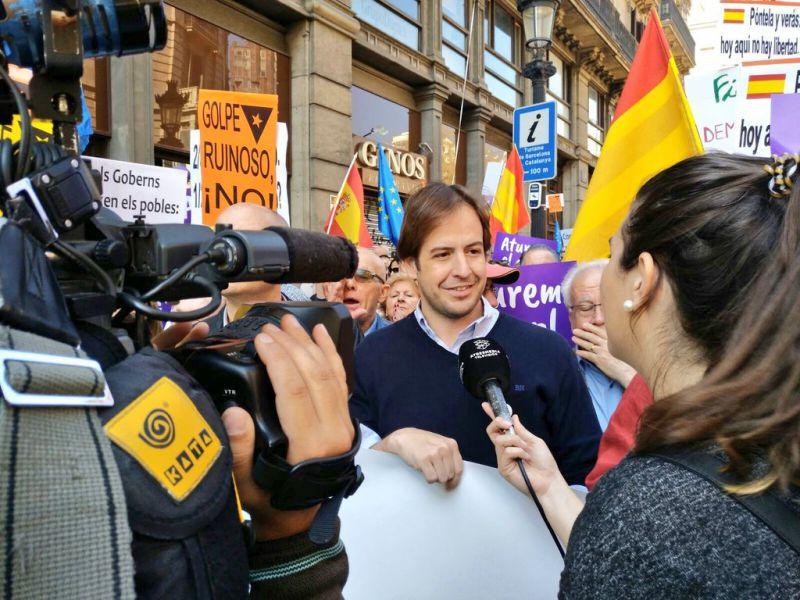 """Brown: """"Rajoy tiene nuestro cheque en blanco para aplastar el Golpe de Estado de Puigdemont"""""""