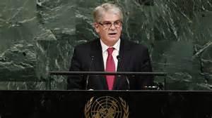 Dastis critica en Naciones Unidas a quienes defienden una