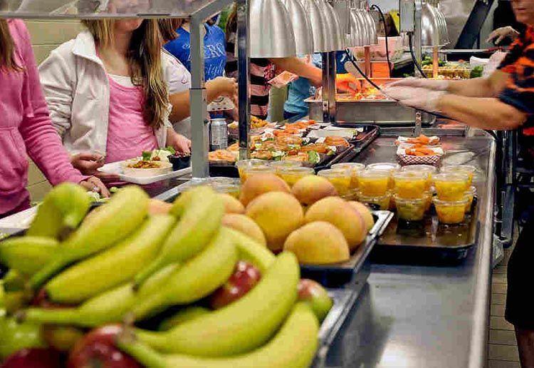 Nutrición en los colegios, más fruta y menos bollería