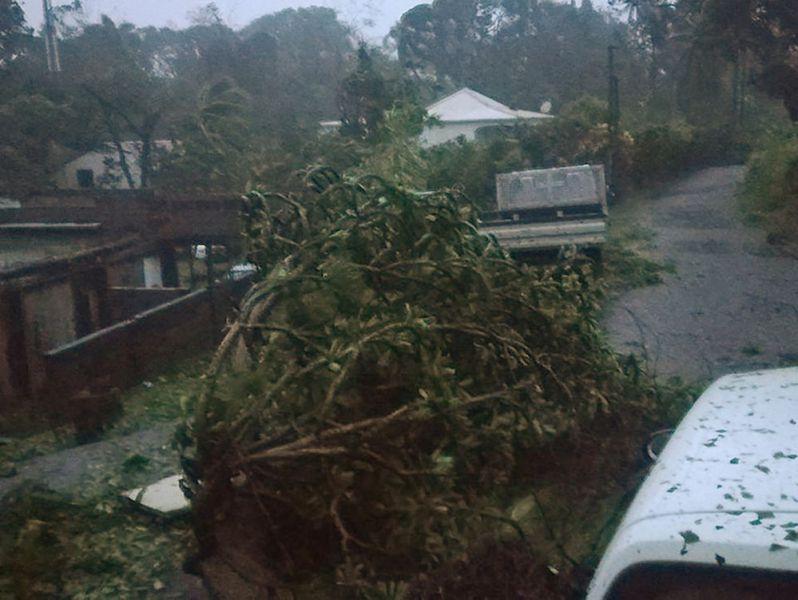 El huracán María devasta la isla de Dominica