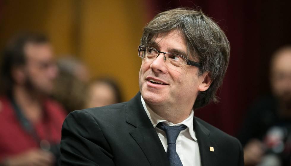 Puigdemont comparecerá ante el juez a primera hora del próximo lunes