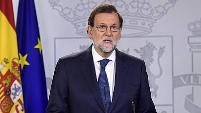 Rajoy garantiza que el Estado reaccionará ante un
