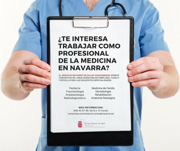 El SNS realizará nuevas contrataciones de larga duración en ocho especialidades médicas