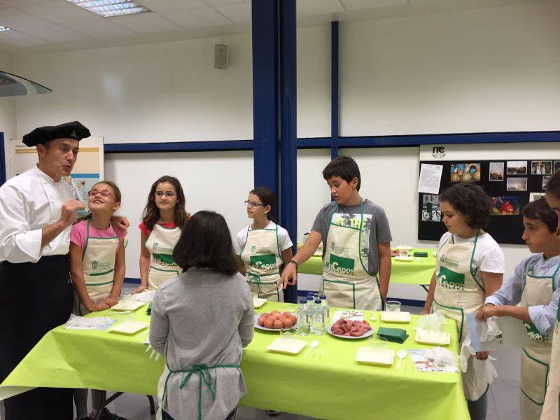 Mercados de Ensanche y Ermitagaña proponen recetas energéticas para la 'Vuelta al cole'