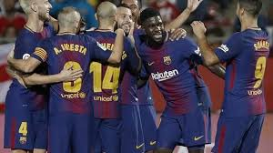 4-0. El Barcelona golea y llegará al Bernabéu con once puntos sobre el Madrid
