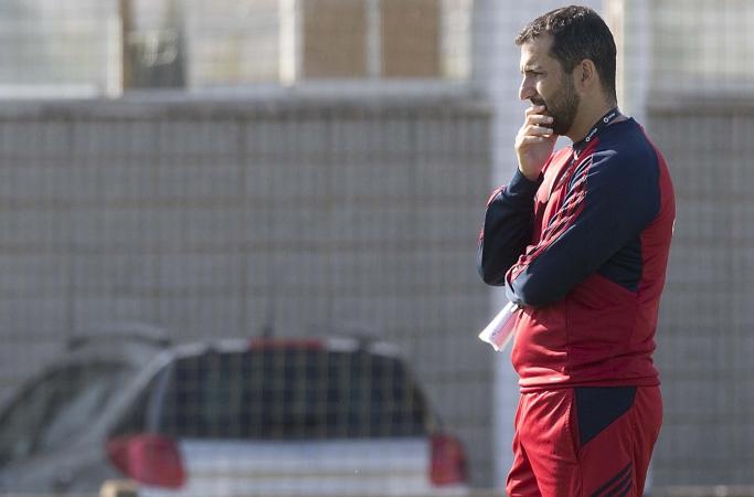 """Diego Martínez: """"Somos profesionales para vivir momentos con este"""""""