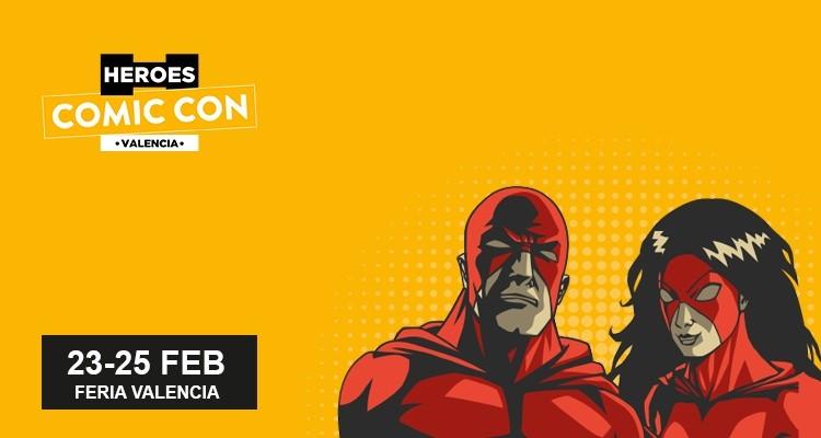 Valencia acogerá su primer salón del cómic: Heroes Comic Con Valencia
