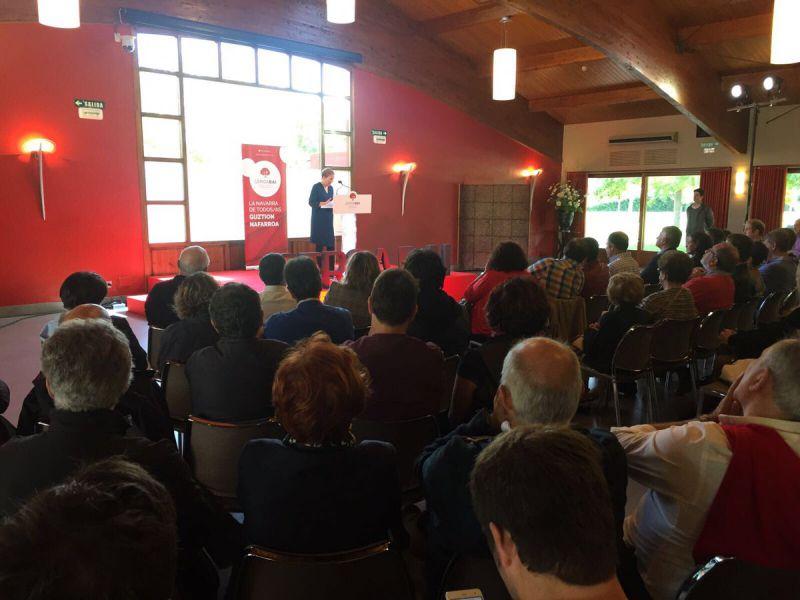 Barkos critica al Gobierno de España su actitud en el TAV