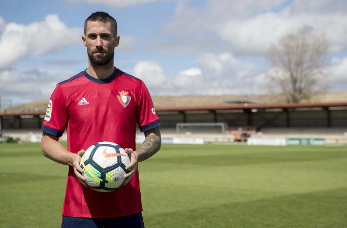 """Lillo: """"Para mí es un orgullo estar en un club histórico como Osasuna"""""""