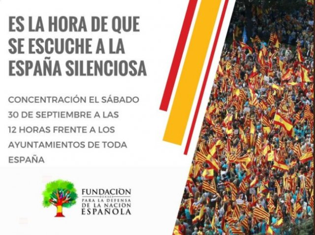 DENAES convoca una manifestación este sábado en toda España en defensa de la unidad