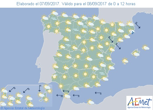 Hoy en España intervalos nubosos en el norte temperaturas diurnas en ascenso