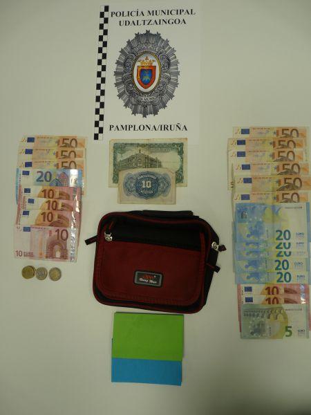 La Policía Municipal de Pamplona detiene a dos personas por el timo del tocomocho