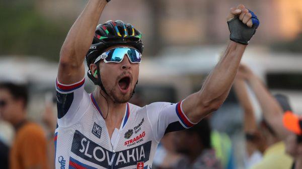 Sagan entra en la historia con su tercer arco iris consecutivo