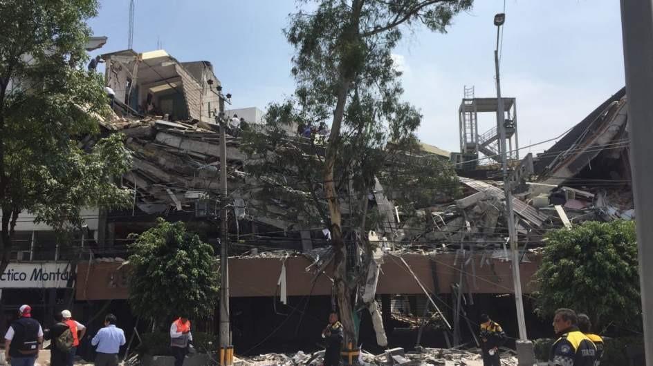 Al menos 57 muertos tras un terremoto de magnitud 7,1 en el centro de México