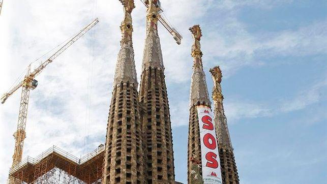 Las torres centrales de la Sagrada Familia estarán acabadas en 2022