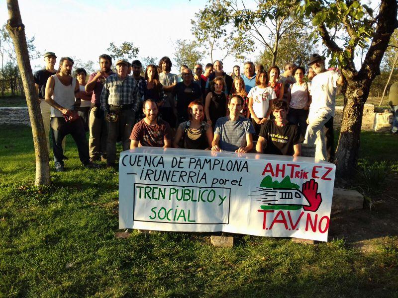 """Nace una plataforma por el """"Tren Público y Social. TAV no"""""""