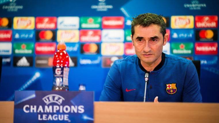 Valverde, preocupado con el juego exterior y la contra del Sporting