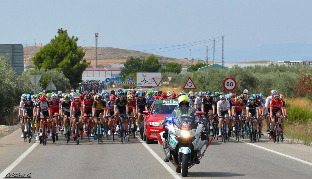 100 guardias civiles de Navarra velarán por la seguridad de La Vuelta Ciclista a España en su paso por la Comunidad Foral