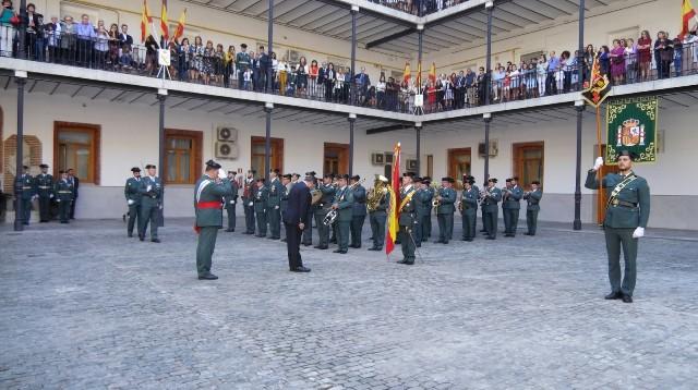 La zona de la Guardia Civil de Madrid ha celebrado  los actos conmemorativos de la Patrona del Cuerpo
