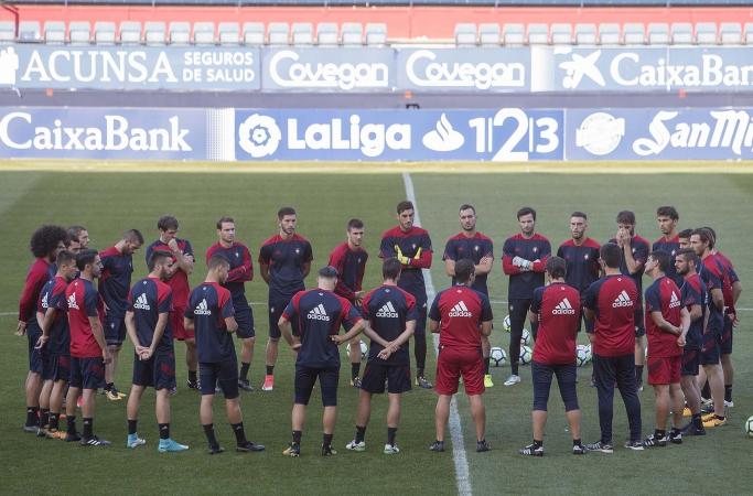 Veinte jugadores convocados para el encuentro ante el Real Zaragoza