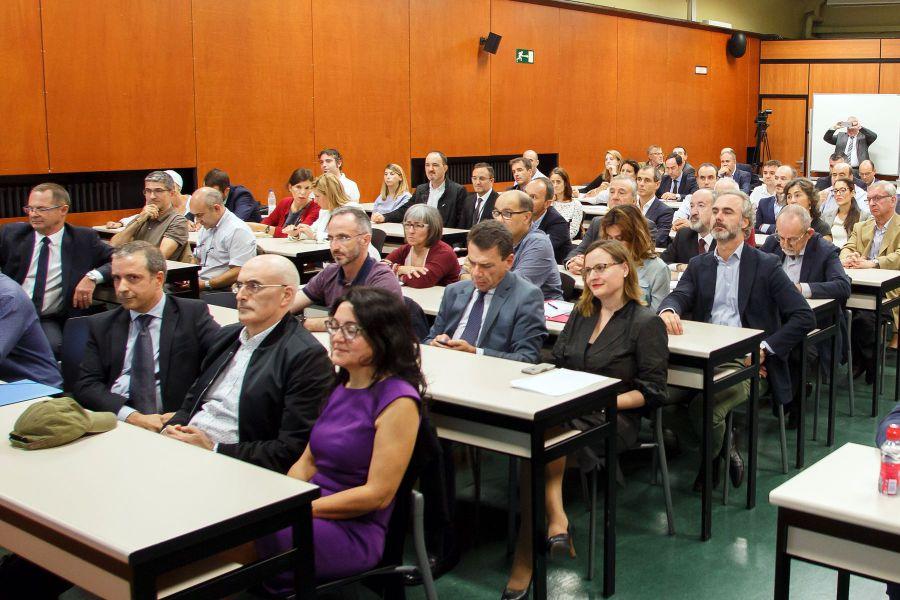 El Consejo Social de la UPNA presenta los avances del futuro a 90 clubes profesionales