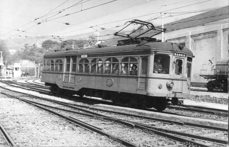 Inaugurada la Primera línea de ferrocarril española