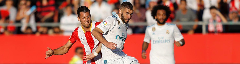 2-1: El Madrid naufraga ante el arbitraje y el contragolpe del Gerona