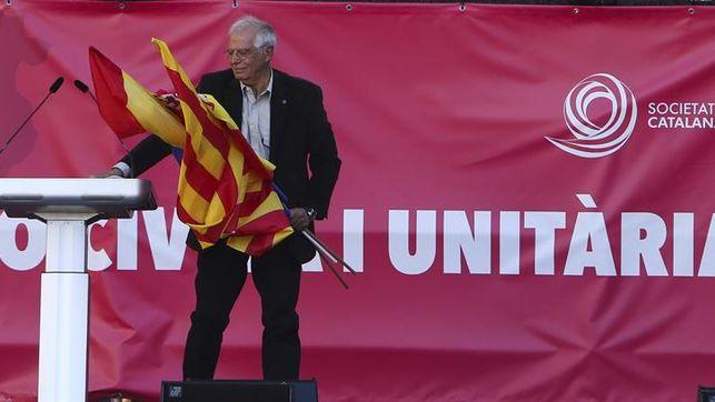 """Borrell ve el 21D una """"oportunidad de oro"""" para cambiar el Gobierno catalán y pide que la justicia actúe"""