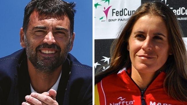 Sergio Bruguera y Anabel Medina, capitanes de Copa Davis y Copa Federación