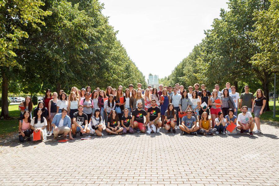 Un total de 150 estudiantes de intercambio comienzan el semestre de otoño en la Universidad Pública de Navarra