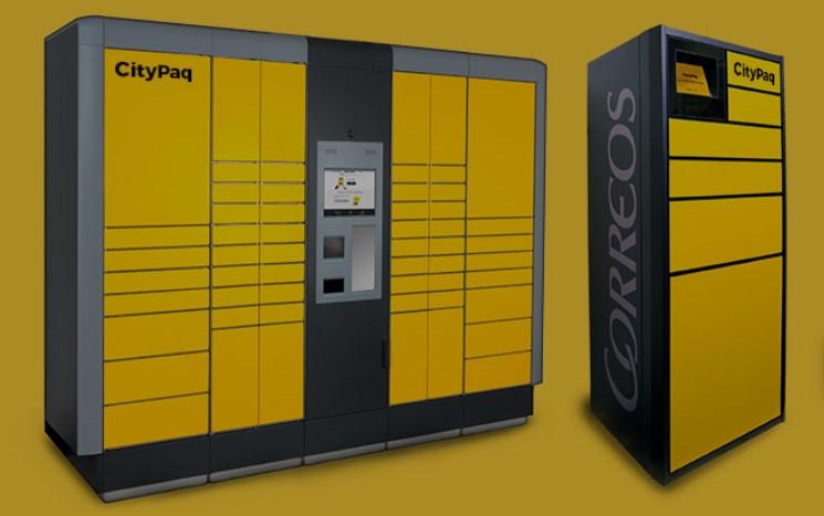 Correos cuenta con doce dispositivos CityPaq para recoger paquetería en Navarra