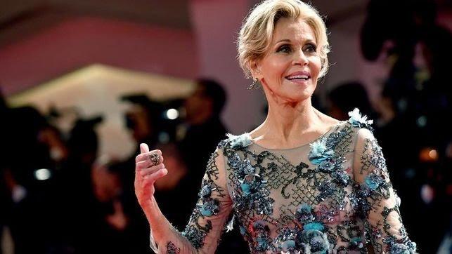 Jane Fonda lamenta no haber hablado antes sobre los abusos de Weinstein