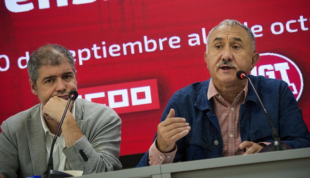 Los sindicatos llaman a manifestarse el 16 de junio para reclamar la mejora salarial