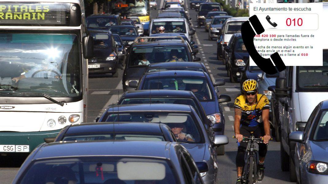 Importantes alteraciones en el tráfico en Pamplona el sábado y el domingo partido de Osasuna