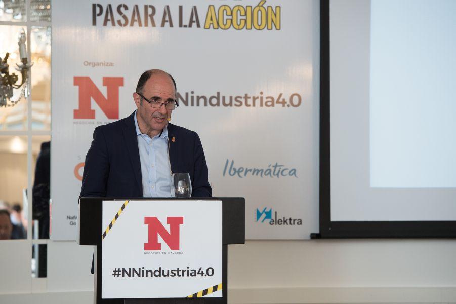 Ayerdi remarca que la Industria 4.0 es ya una realidad imparable