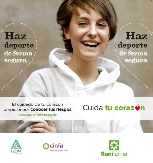 Campaña de Prevención de Enfermedades Cardiovasculares y Práctica Deportiva Segura en las Farmacias SANIFARMA