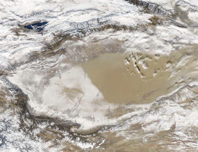 China llevará agua al desierto por el mayor túnel del mundo, de mil kilómetros