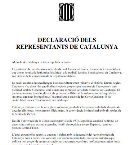 Unos 40 militantes del PDeCAT urgen levantar la suspensión de independencia