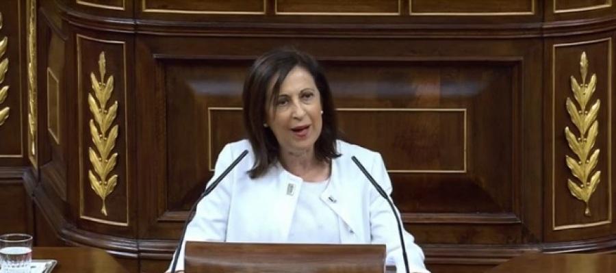 Margarita Robles acusa a Rajoy de
