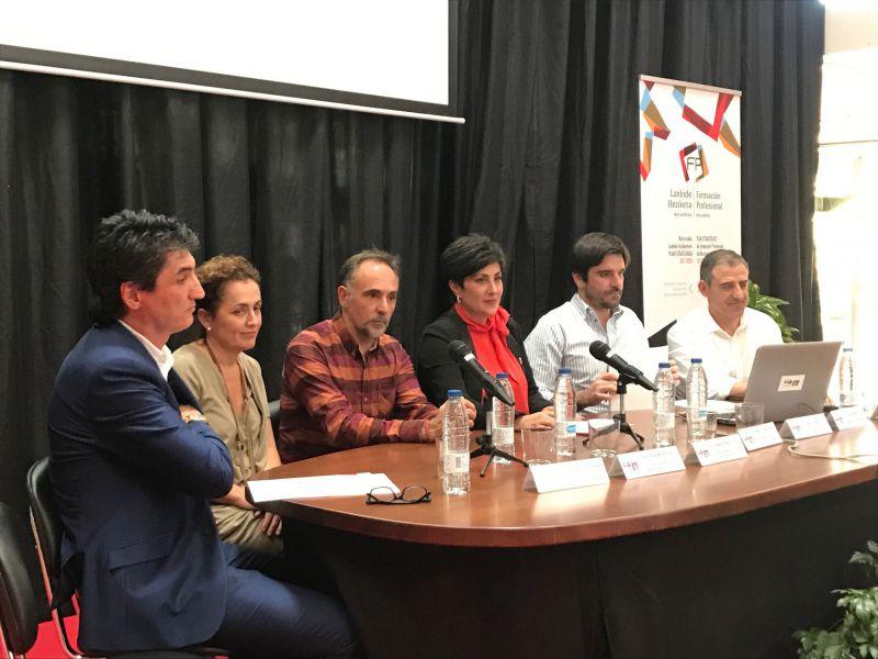 El Gobierno de Navarra presenta el Plan de FP en la Ribera