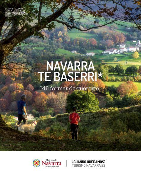 """Nueva campaña de turismo de Navarra, un """"flechazo entre la Comunidad Foral y su visitante, como gancho"""""""