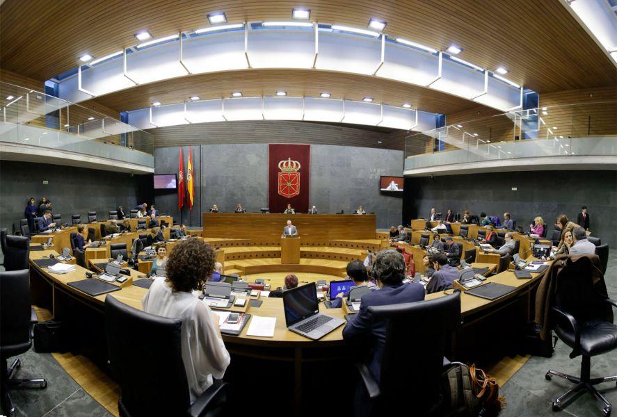 Debate del Estado de Navarra: Los diferentes portavoces, en su turno de réplica