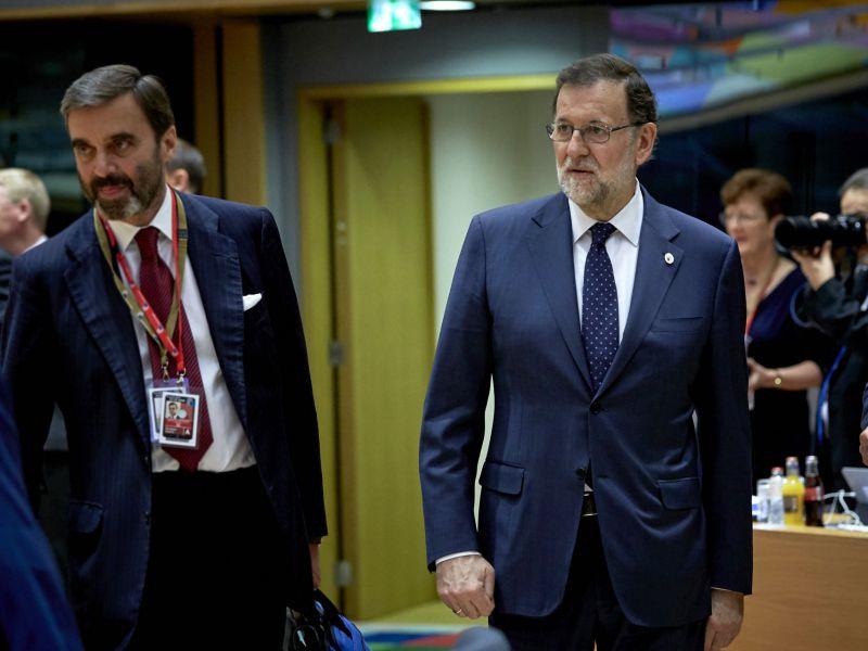 Rajoy recibe el apoyo de la UE frente al desafío secesionista en Cataluña