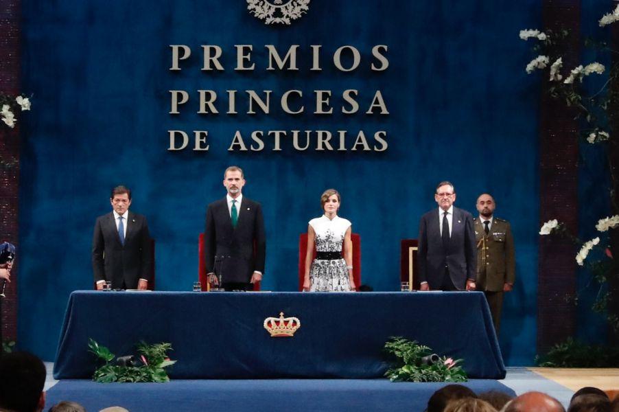 Entrega de los Premios Princesa de Asturias 2017